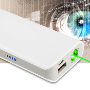 Laser Mobile Power Bank