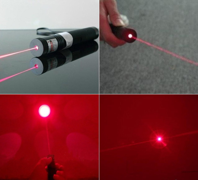 200mW Laserpointer Rot