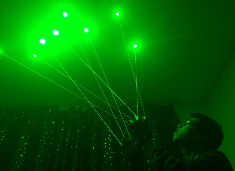 laser grün handschuhe