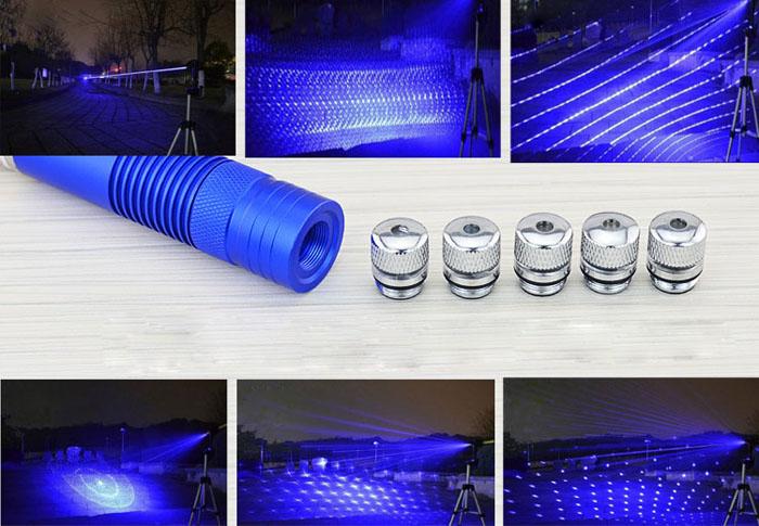 2w laserpointer blau