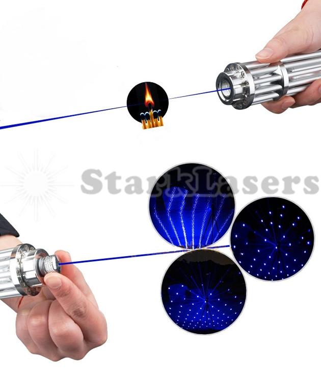 Blauer Laserpointer 3000mw