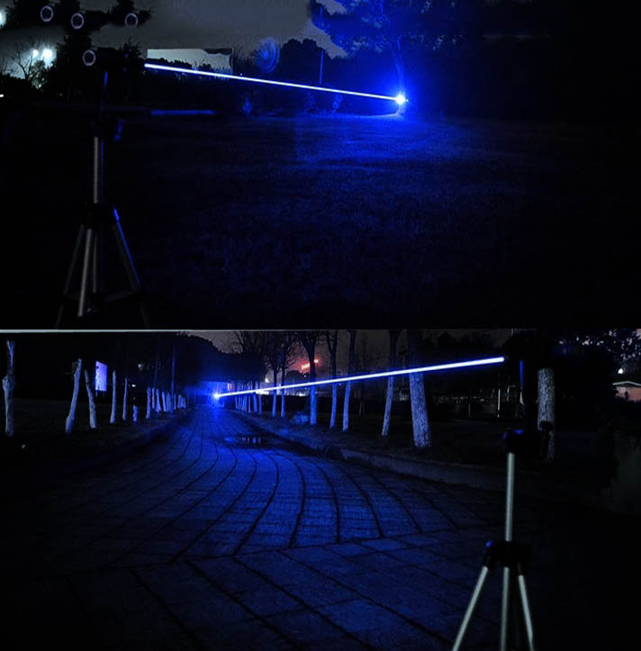 30000mw Blauer laserpointer