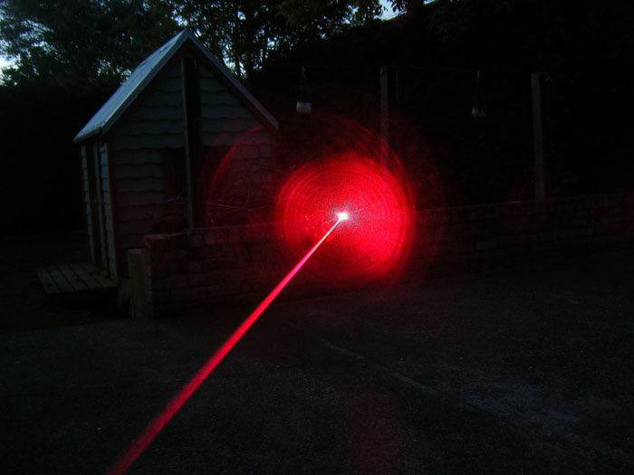 roter Laserpointer 450mW